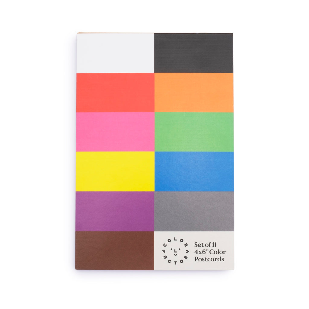 Color Factory Colors Postcard Set - colorfactoryshop