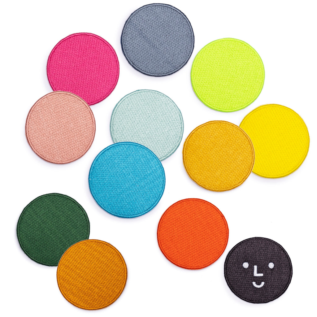 The Studio x Color Factory Polka Dot Patches - colorfactoryshop