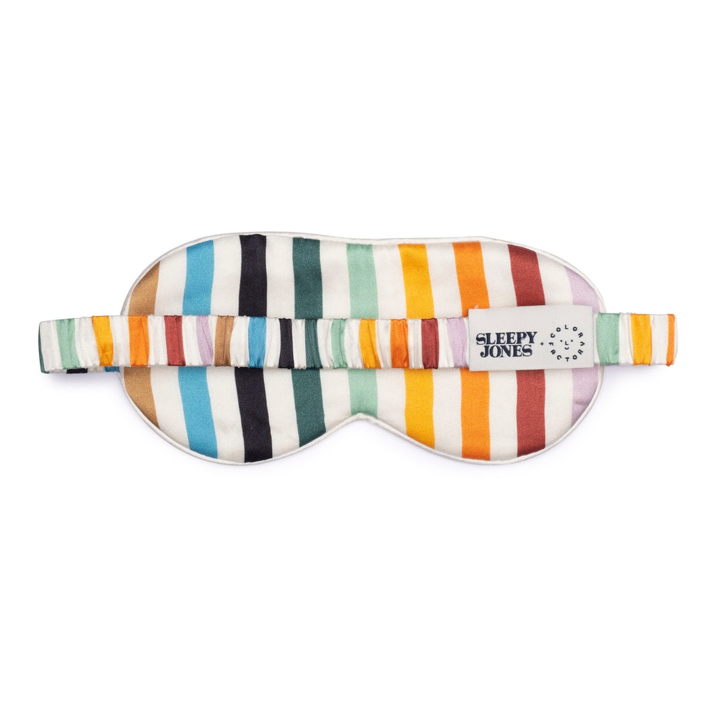 Sleepy Jones x Color Factory Silk Sleep Mask - colorfactoryshop