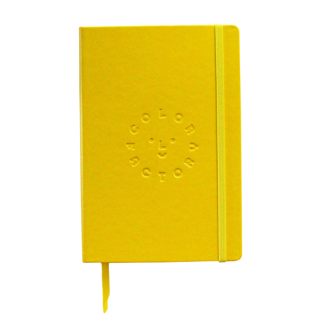 Color Factory Yellow Journal - colorfactoryshop