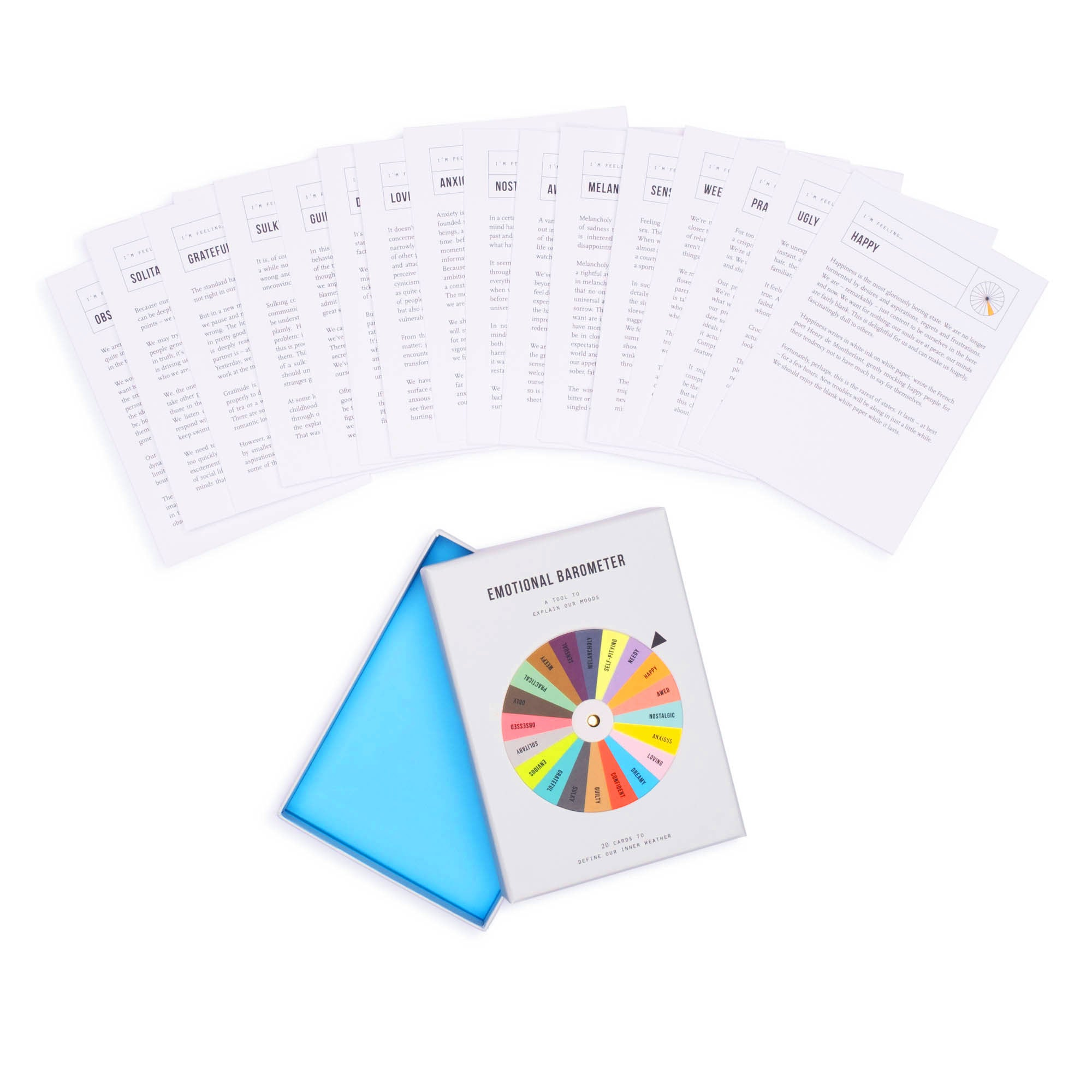 Emotional Barometer Cards - colorfactoryshop