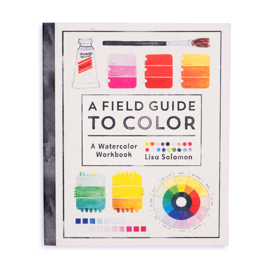 A Field Guide to Color: A Watercolor Workbook - colorfactoryshop