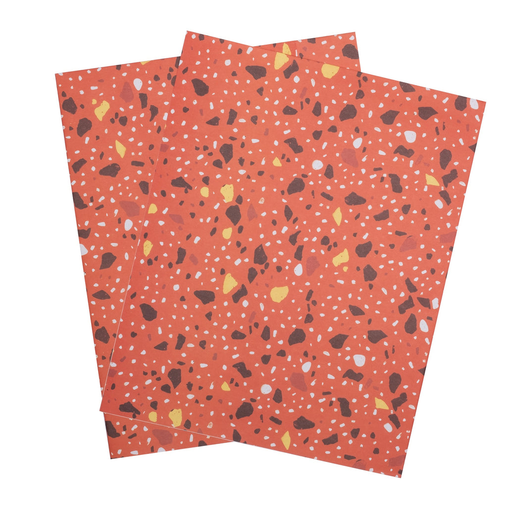 Food Terrazzo Wrapping Paper - colorfactoryshop