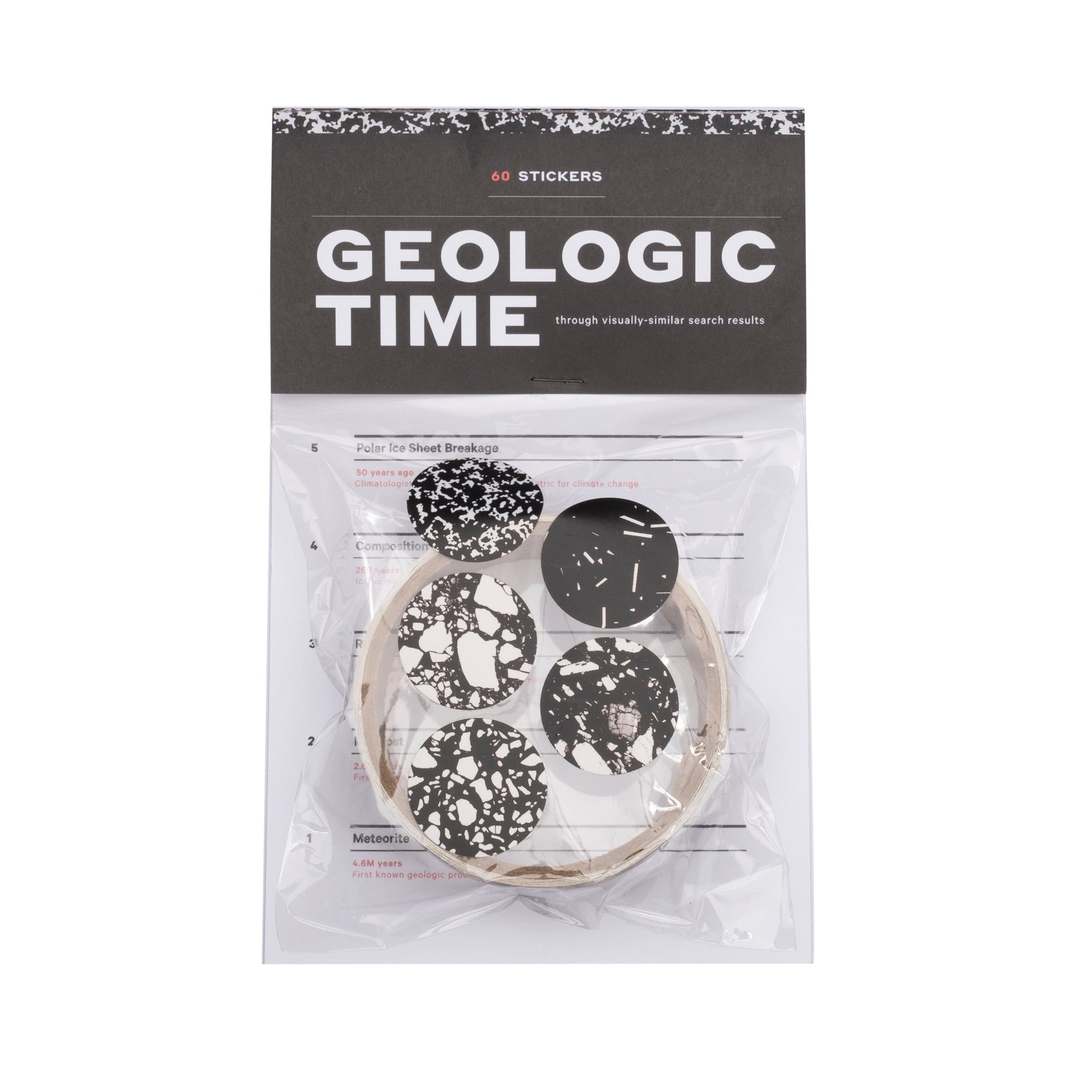 Geologic Time Stickers - colorfactoryshop