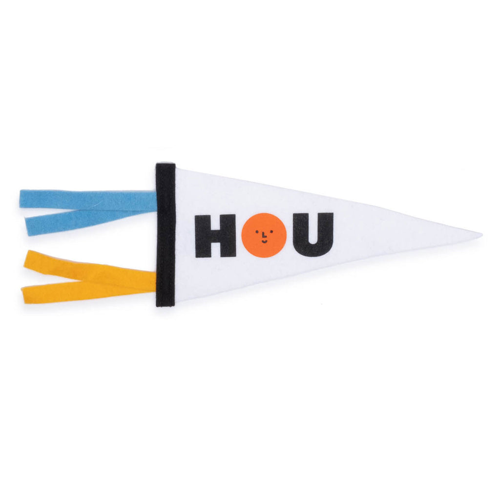HOU Pennant - colorfactoryshop