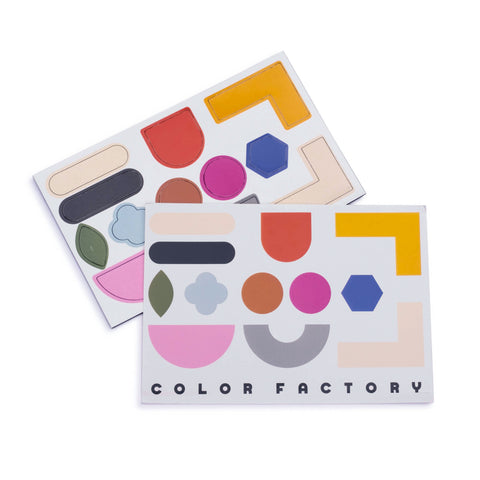 Color Factory Shape Magnets - colorfactoryshop