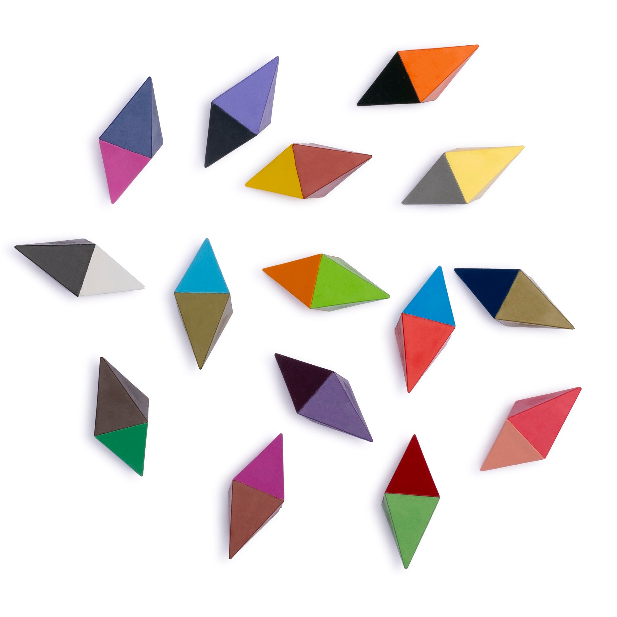 Octahedron Crayons - colorfactoryshop