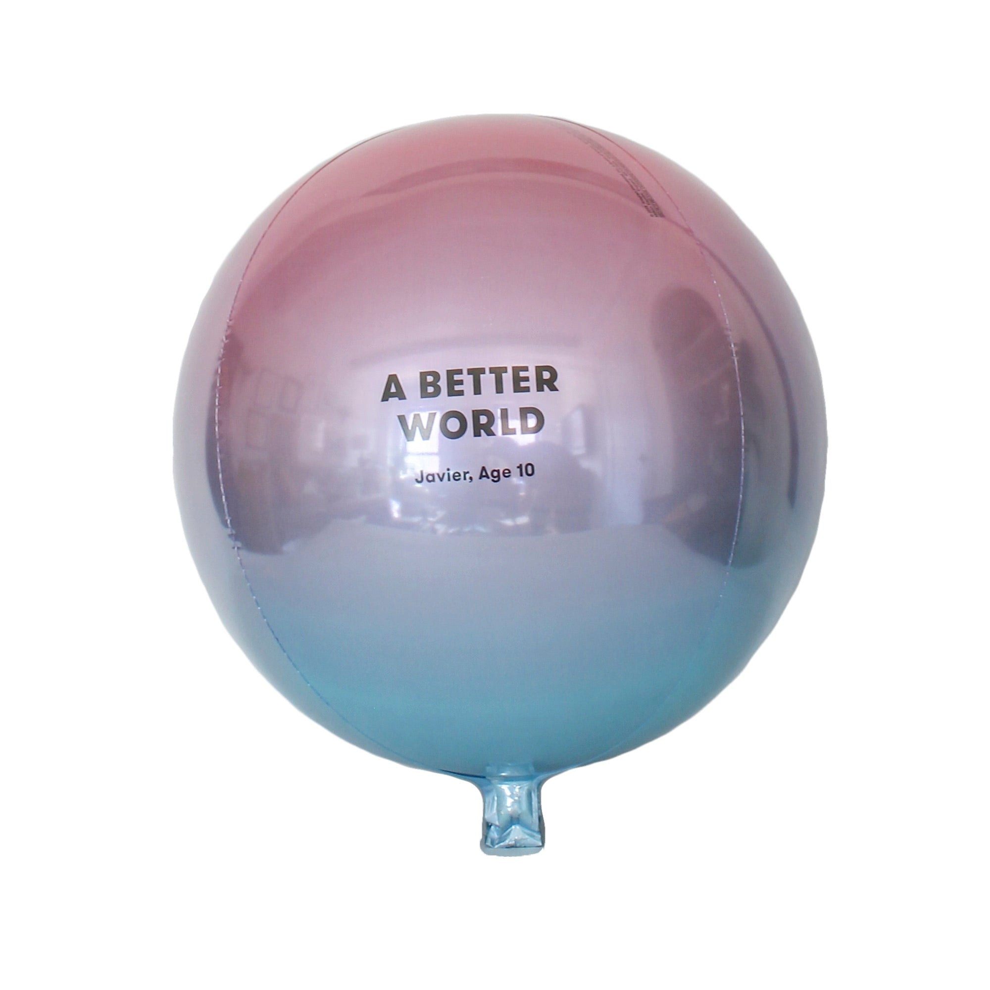 Ombre Balloon - colorfactoryshop
