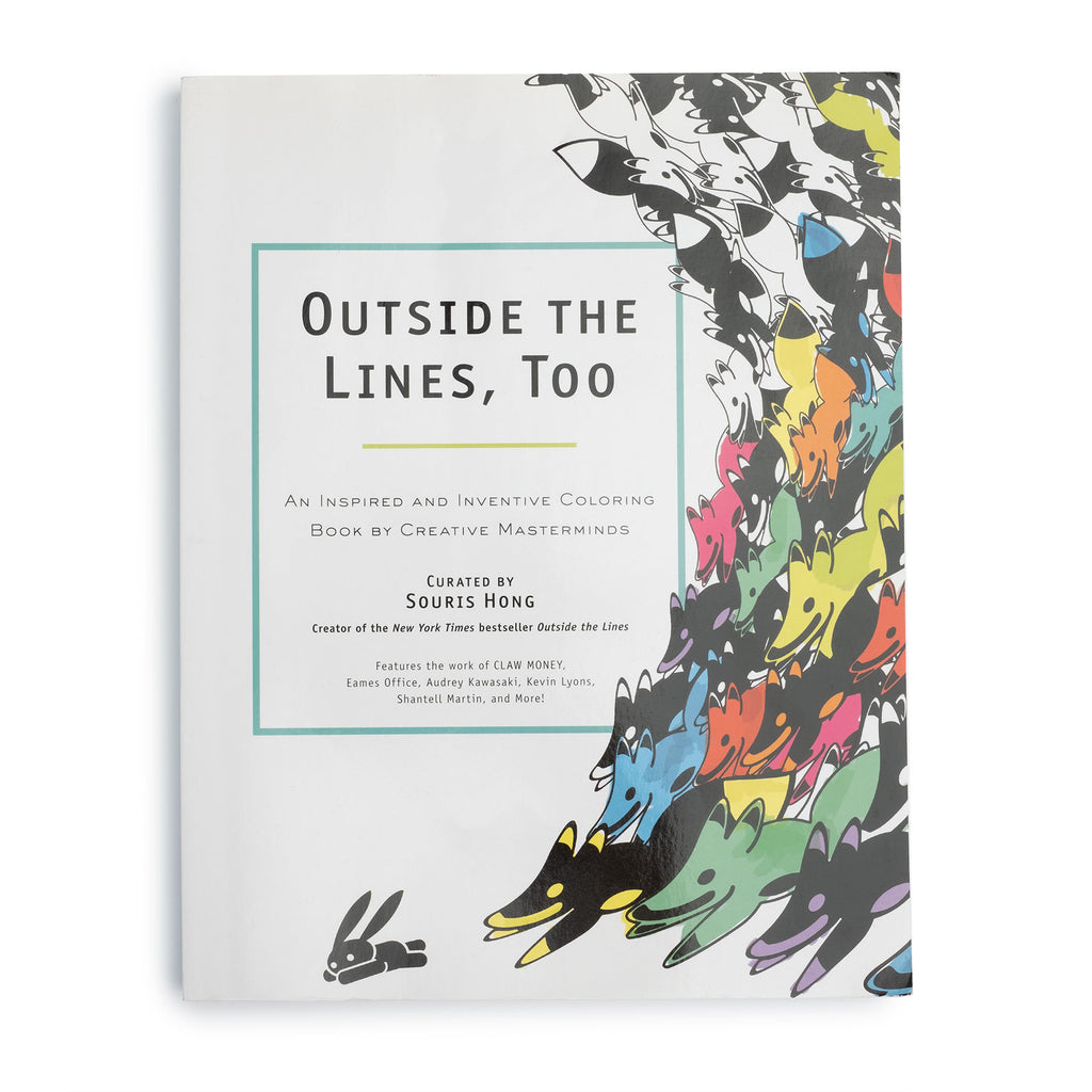 Outside the Lines, Too: An Inspired and Inventive Coloring Book by Creative Masterminds - colorfactoryshop