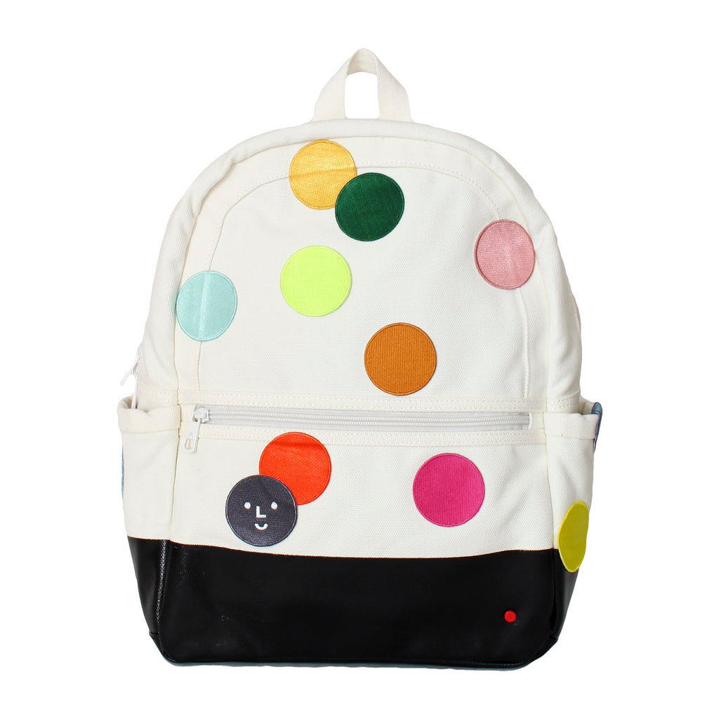 STATE Backpack with DIY Patch Polka Dots - colorfactoryshop
