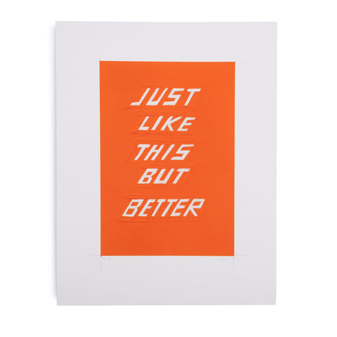 Scott Patt Print - Just Like This - colorfactoryshop