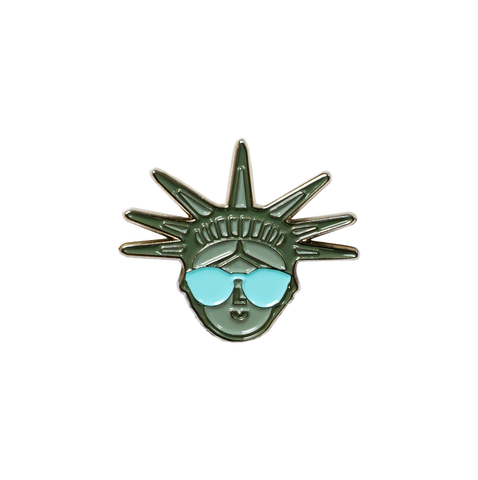 Color Factory Statue of Liberty Pin