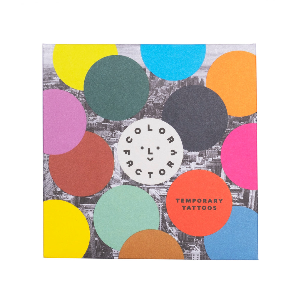 Color Factory Temporary Tattoos - colorfactoryshop