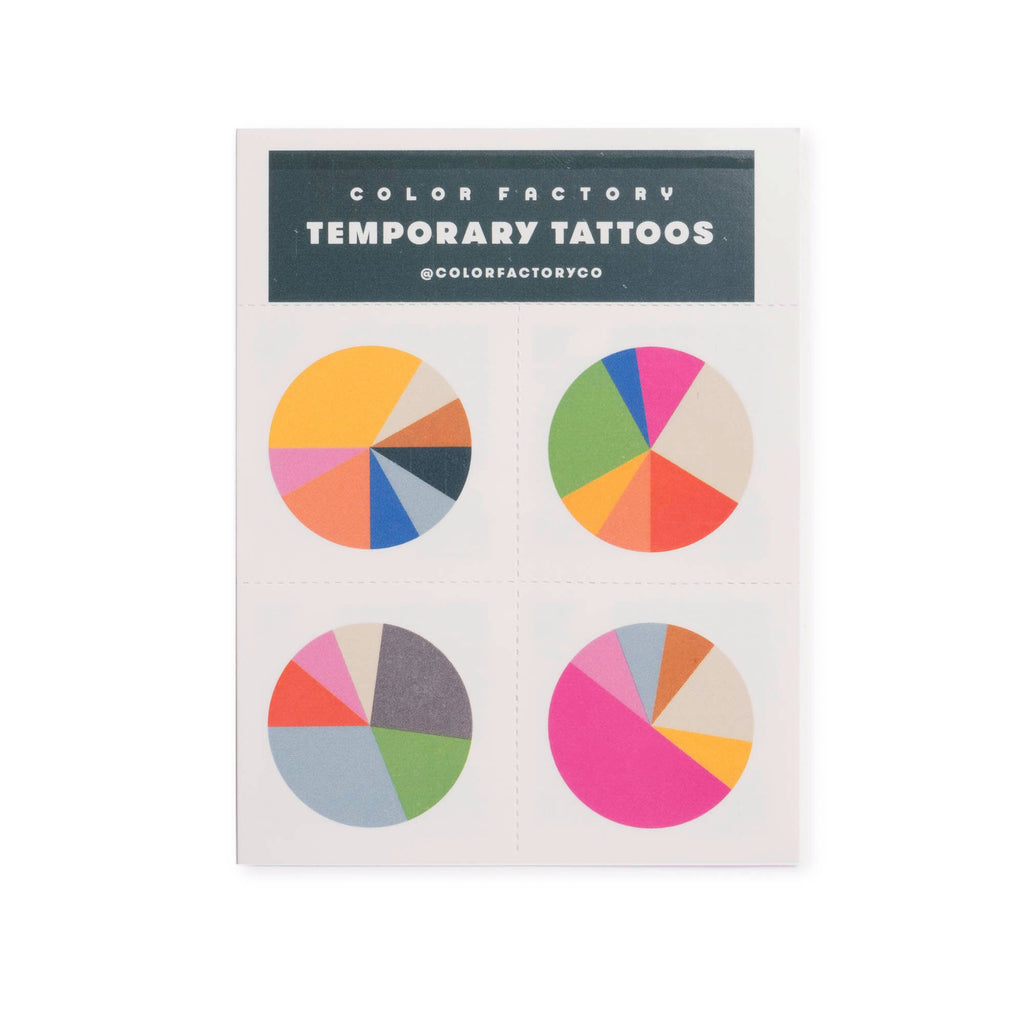Color Factory Houston Temporary Tattoos - colorfactoryshop