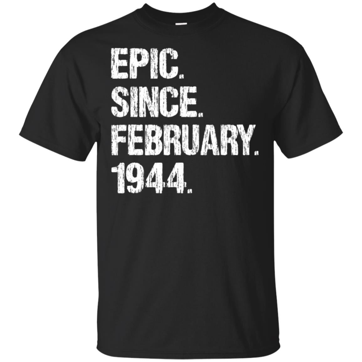 Born In March 1944 Birthday Gift T-Shirt 75 Year Old