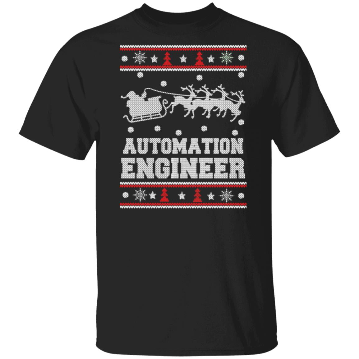 Automation engineer-Engineer Christmas sweater T-Shirt