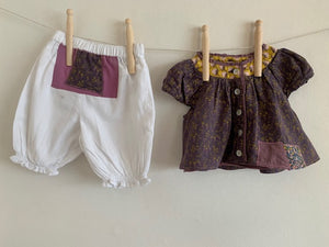 Slow Stitch - Upcycled Bloomers