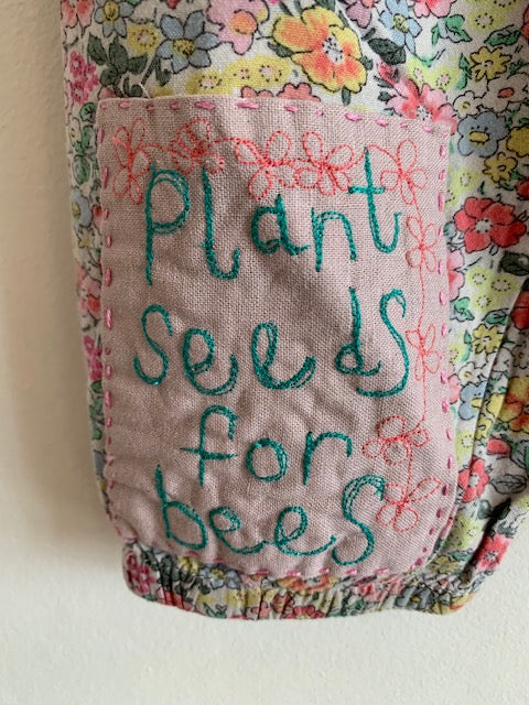 Slow Stitch - Plant Seeds For Bees Pants