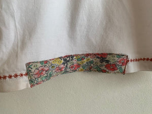 Slow Stitch - Floral Pocket Tee