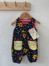 Load image into Gallery viewer, Slow Stitch - Wild Flower Dungarees