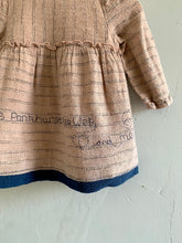Load image into Gallery viewer, Slow Stitch - 'Mini Feminist' dress