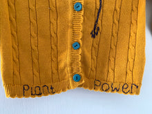 Load image into Gallery viewer, Slow Stitch - 'Plant Power' cardigan