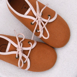 Oxford Shoes - Rust