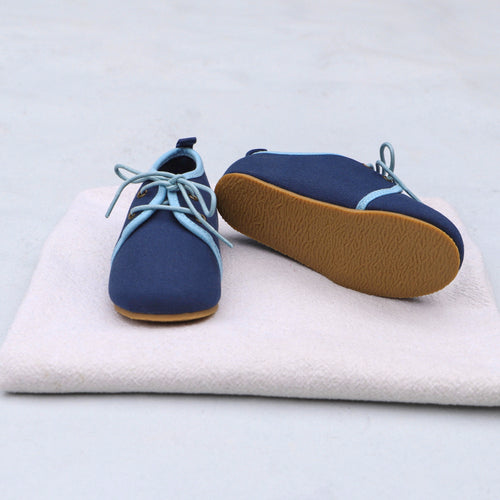 Oxford Shoes - Navy