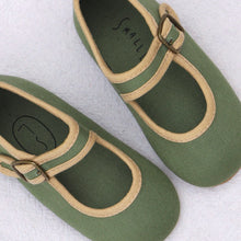 Load image into Gallery viewer, Mary Jane Shoes - Olive
