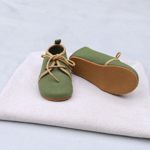 Oxford Shoes - Olive