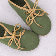 Load image into Gallery viewer, Oxford Shoes - Olive