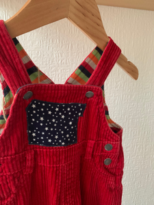Slow Stitch - Corduroy Dungarees