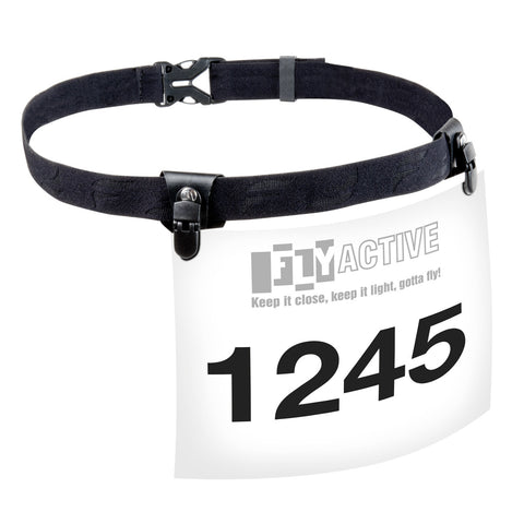 Race Day Number Belt