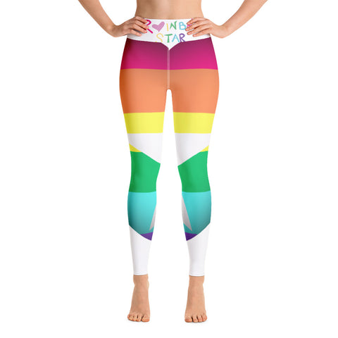 The RAINBOW STAR Leggings w/ POCKET!