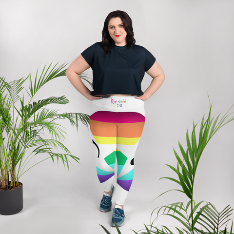 The RAINBOW STAR Leggings 2X-6X