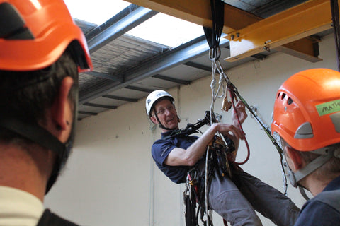 Rope Access Technologies - IRATA Level 2/3 Course Courses on Hold for now. Hopefully Back Sometime in September. Call to be wait listed 03 9329 0377