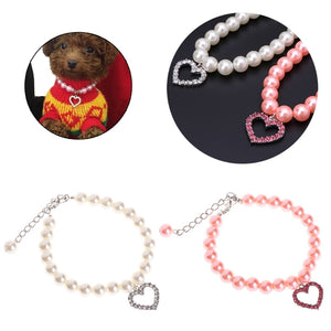 Top Most Beautiful Cat Pearl Necklace Collar