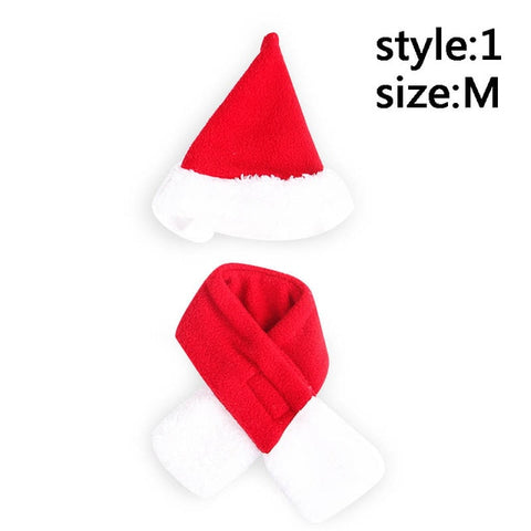 Best Cat Christmas Scarf Cap Cloak Headband