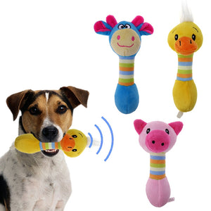 Cute Dog Toys Chew Squeaker