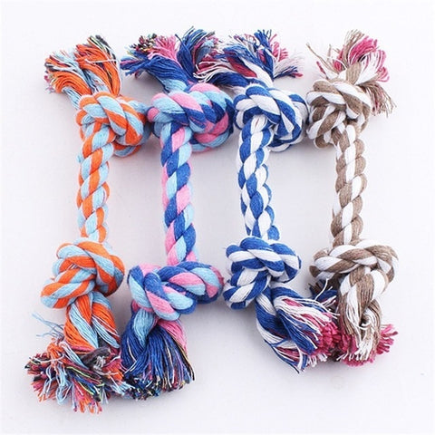 Best Dog Toy Double Knot Cotton Rope