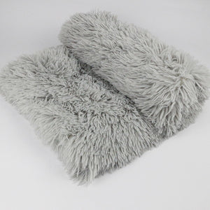Best Dog Bed Blankets Fluffy Dog Bed Blanket