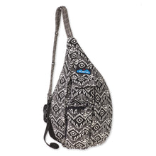 Load image into Gallery viewer, Mini Rope Bag-Black Batik