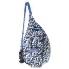 Load image into Gallery viewer, Mini Rope Bag - Charcoal Fable