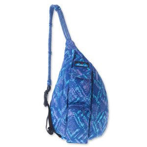 Mini Rope Bag - Ocean Overlay