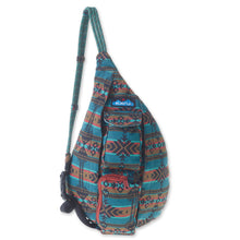 Load image into Gallery viewer, Mini Rope Bag - Pacific Blanket