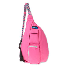 Load image into Gallery viewer, Mini Rope Bag-Pink Crush
