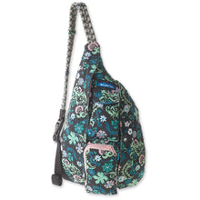 Load image into Gallery viewer, Mini Rope Bag - Whimsical Meadow