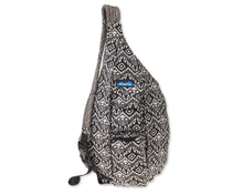 Load image into Gallery viewer, Rope Bag-Black Batik
