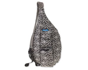 Rope Bag-Black Batik