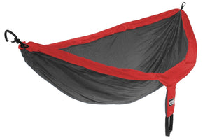 DoubleNest Hammock-Red | Charcoal